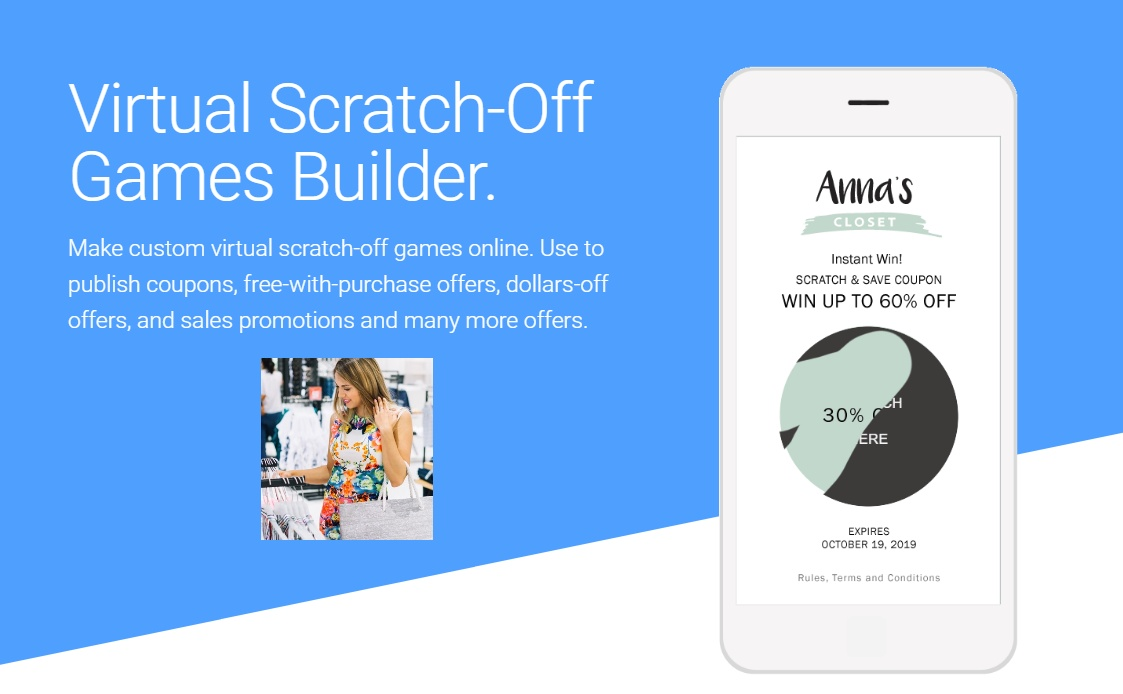 Virtual Scratch-Off Games Builder